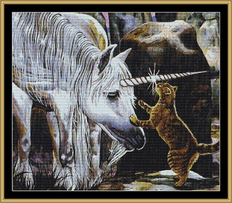 *RETIRED* A Touch Of Magic Cross Stitch