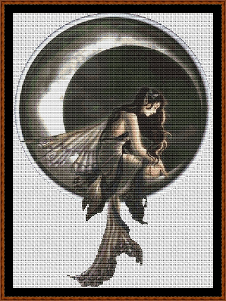 *RETIRED* Dark Moon Cross Stitch